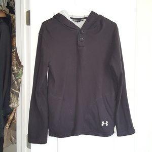 Mens under armour black hoodie